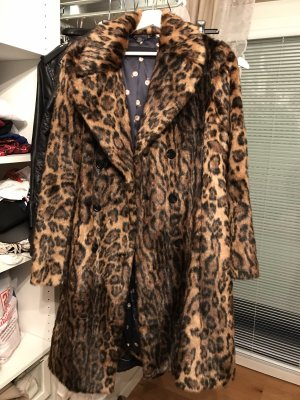 Fake Fur Mantel Blogger MarcCain
