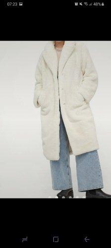 H&M Kurtka ze sztucznym futrem Wielokolorowy