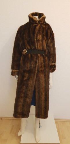 fake fur Mantel Fellimitat Wintermantel sehr echt