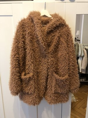Fake Fur Mantel/Jacke