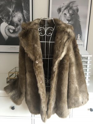 Fake Fur Mantel/ Kurzmantel/ Jacke