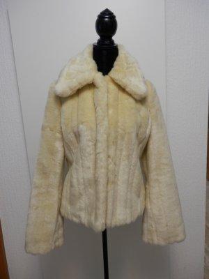 Fake Fur Pelzmantel Fellmantel Mantel Kurzmantel Wintermantel Blogger Jacke