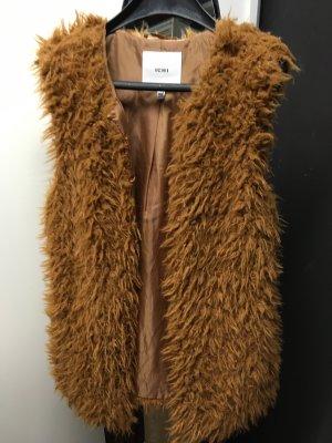 Fake Fur Weste S von ICHI