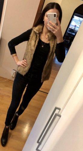 Fake-Fur Weste von H&M