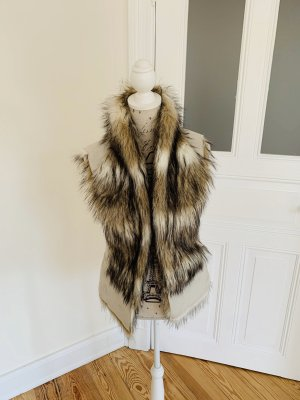Fake Fur Weste // Zara
