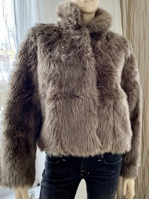 Orsay Fake Fur Jacket taupe
