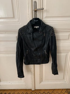 Fake-Leather Jacket