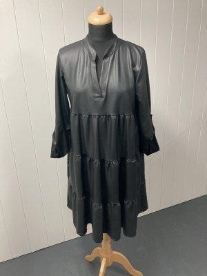Fake Leder Kleid