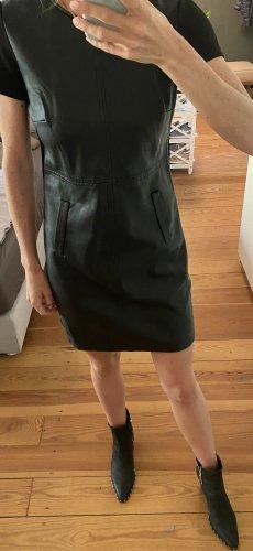 Tramontana Skórzana sukienka czarny