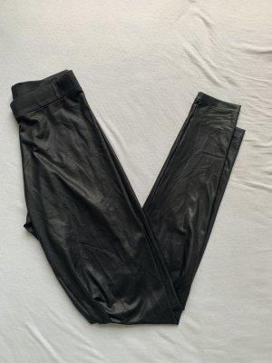 Pieces Pantalón de cuero negro