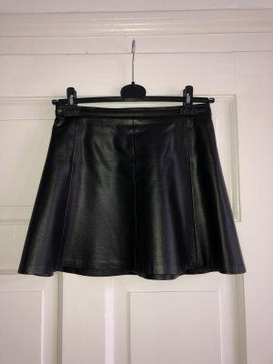 Polo Ralph Lauren Rok van imitatieleder zwart