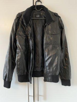 Hi Buxter Faux Leather Jacket black