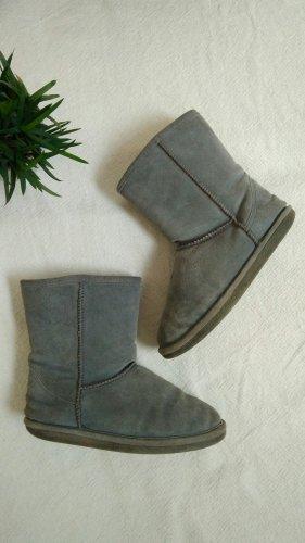 Winterlaarzen grijs