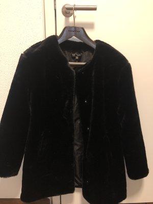 Fakefur Jacke von Zara
