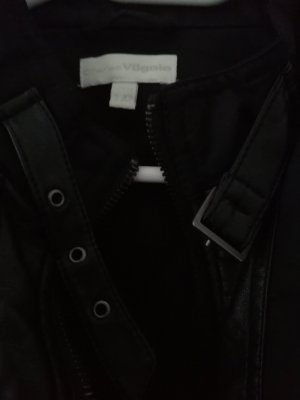 Charles Vögele Faux Leather Jacket black-anthracite