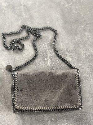 Stella McCartney Sac de soirée gris tissu mixte