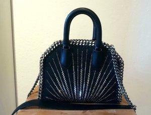 Falabella Box Mini Eco Suede Top Handle Bag