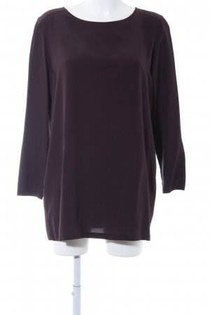 Falconeri Shirttunika dunkelviolett Business-Look