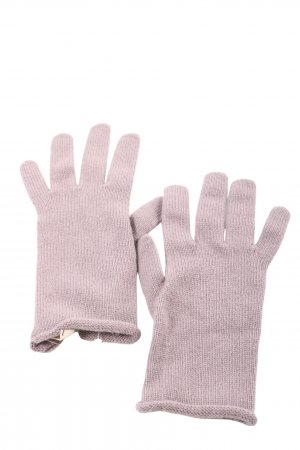 Falconeri Knitted Gloves pink casual look