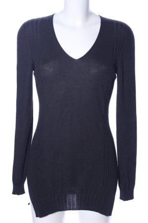 Falconeri Strickshirt blau Casual-Look
