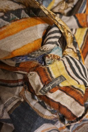 Faliero sarti Fringed Scarf multicolored modal fibre