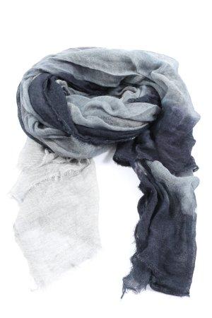Faliero sarti Chal veraniego blanco-negro degradado de color look casual