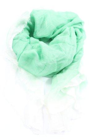 Faliero sarti Écharpe bavaroise vert-blanc gradient de couleur