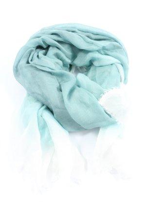 Faliero sarti Écharpe bavaroise turquoise style décontracté