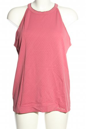 Falke Basic Top pink Streifenmuster Casual-Look