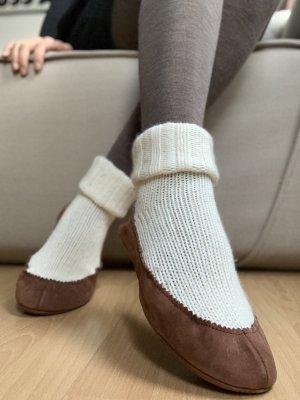 Falke Pantoufles-chaussette multicolore laine