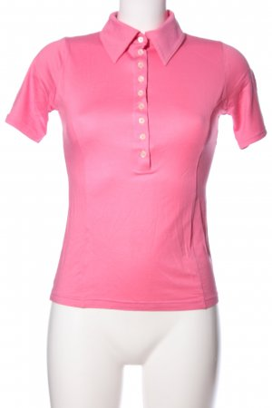 Falke Polo-Shirt pink Casual-Look