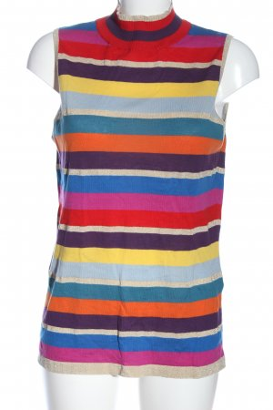 Falke Neckholder Top striped pattern casual look
