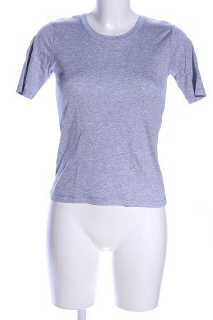 Falke T-Shirt hellgrau meliert Casual-Look