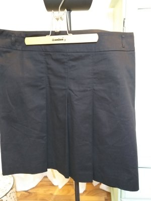 Edc Esprit Plaid Skirt black