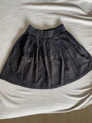 H&M Divided Balonowa spódniczka czarny