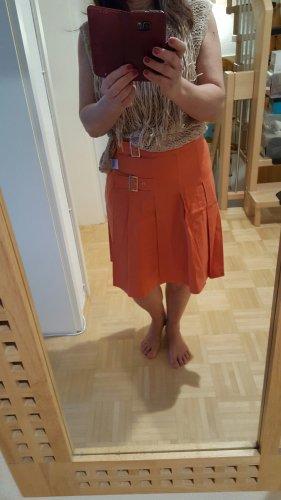 Hirsch Gonna arancione scuro