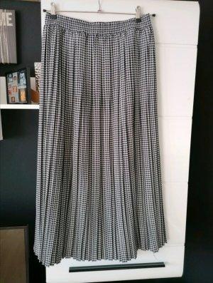 Hirsch Plaid Skirt black-grey