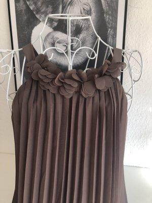 Camaieu Midi Dress grey brown