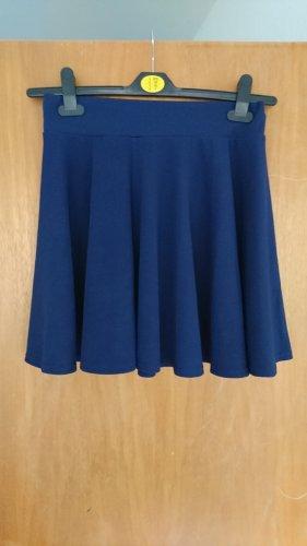 Urban Coco Plaid Skirt dark blue