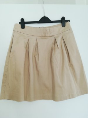 BAF Plaid Skirt oatmeal