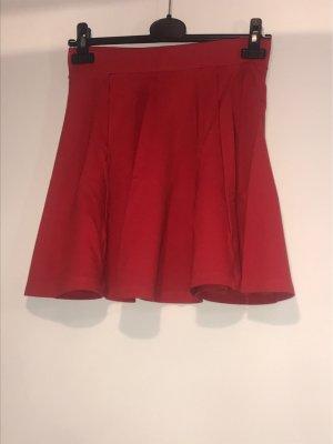 Pimkie Plisowana spódnica ciemnoczerwony-czerwony