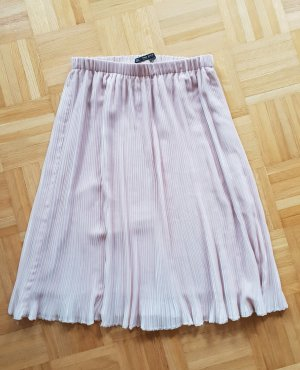 Zara Plisowana spódnica stary róż