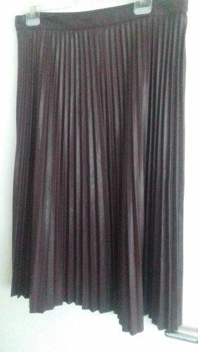 C&A Yessica Jupe à plis bordeau polyester