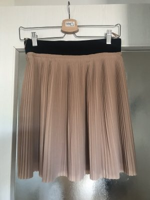 Faltenrock beige Zara