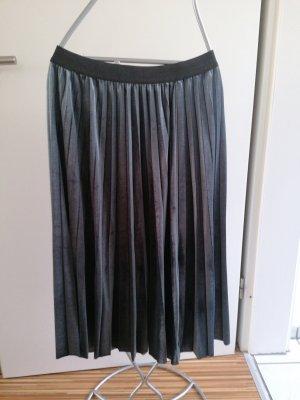 Broadway Falda plisada gris oscuro