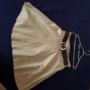 Coolwater Jupe en tissu crash beige clair tissu mixte