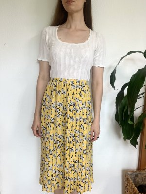 Vintage Plaid Skirt multicolored