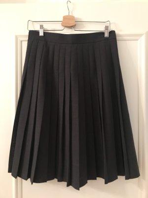 Bianca Plaid Skirt grey