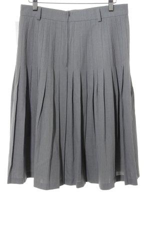 Faltenrock grau klassischer Stil