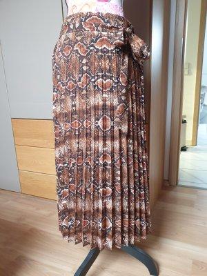Rich & Royal Plaid Skirt multicolored